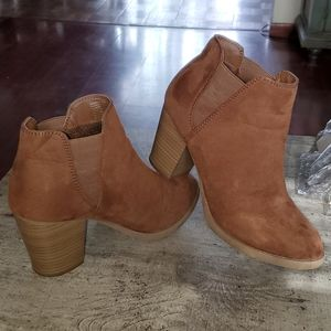 Ankle boots with 3 inch heel
